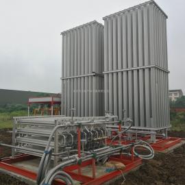 天然气设备低温液体气化设备LNG空温式汽化器煤改气设备卸车增压撬客户定做
