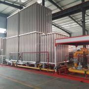 液氮汽化器煤改气设备低温液体汽化器液氧汽化器空温式汽化器集中供气系统YQK100-10000