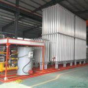 空温式汽化器空温式气化器CNG减压撬调压箱柜气化调压撬水溶式汽化器客户定做