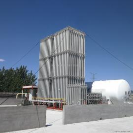 天燃气设备大型空温式气化器防爆电加热气化设备LNG汽车加气站成套设备客户定做