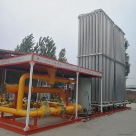 天然气设备lng空温式气化器汽化器气化调压计量撬水浴式电复热器客户定做