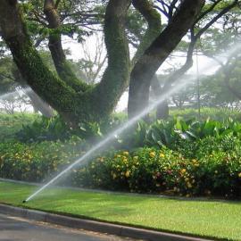 水云间景观园林绿化自动喷灌,操场、草坪、高尔夫球场喷淋节水灌溉系统定制
