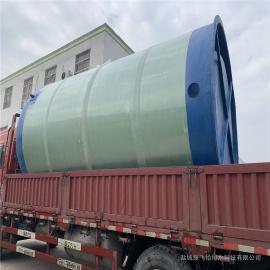 粉碎格栅一体式泵井成品一体化泵站玻璃钢污水提升泵站