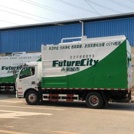 九九八科技粪便处理车载式多功能环保吸污车H3-2