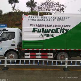 东风多利卡化粪池污水污物分离净化压缩车DFA1041SJ20D5