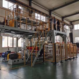 通佳1.6米熔喷布设备 熔喷机制造TJ-RPB1600MM