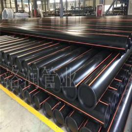黑色聚乙烯燃气管 PE燃气管