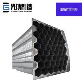 电厂zhuan厂不锈钢阳极管 湿电除尘设备加工定制