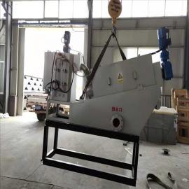 叠螺式压滤机 高效污泥脱水机设备 金镐源 JHY