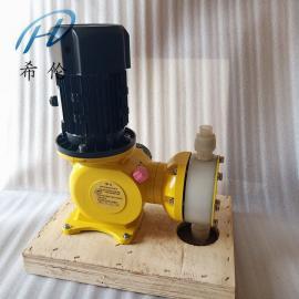 希伦氟塑料隔膜式计量泵JZM