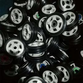 运力橡胶轮 橡胶轮 铝芯橡胶轮规格
