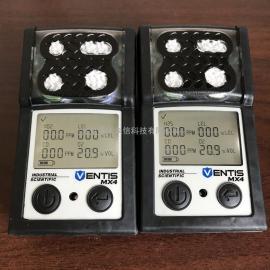 美国英si科ENTIS MX4kuang用四he一气体检测yi带煤an证