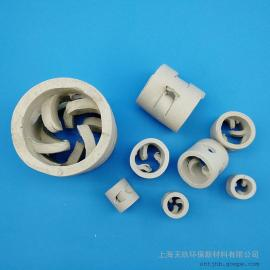 散堆填料 陶瓷鲍尔环 可加工定制