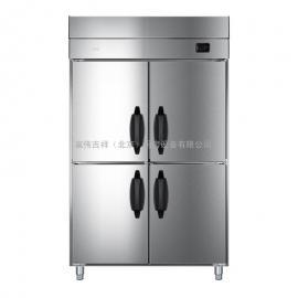 海��(Haier)立式商用冷柜 �L冷�o霜 �N房冰箱 不�P�冰柜 六�T冷藏雪柜SL-1060C4WC