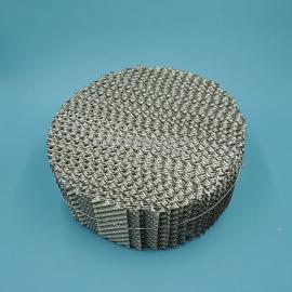 昆山天大不锈钢孔板波纹填料350Y金属波纹板
