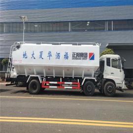 东风fu田ou曼正da饲料车8吨10吨三仓罐diandong送料车2020年kuan
