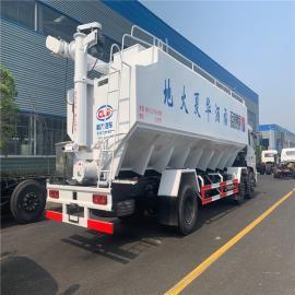 东风wen氏diandong绞龙散装饲料送料车合作单位单qiao罐装鸡ya饲料车2020年kuan