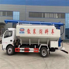 东风散装饲料罐车定制8吨10吨三仓罐diandong送料车2020年kuan