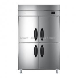 海��(Haier)商用立式四�T �N房冰箱 �L冷�o霜低�匮┕� 不�P�冷柜SL-1060D4WG