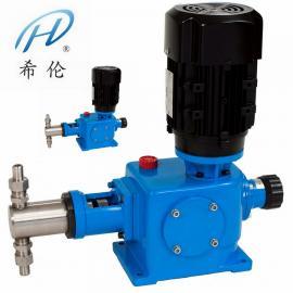 希伦柱塞计量泵 304加药泵DZ-Z