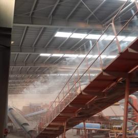 诺鑫达建筑工地围挡围墙喷淋系统/塔吊厂房除尘喷雾设备现货热销中NXD-113