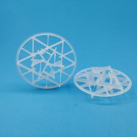 天玖环保塔内件 塑料雪花环 化工散堆填料订做