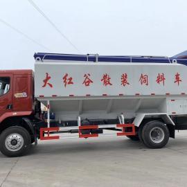 程力威牌8吨饲料罐车生产定制东风