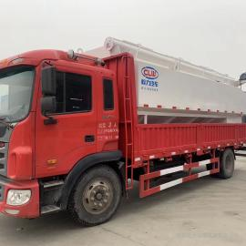 程力威牌15吨饲料罐车生产定制东风