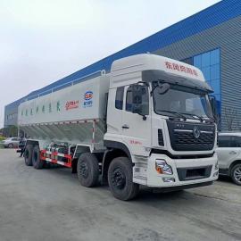程力威东风天龙前四后八40方散装饲料运输车CLW5311ZSLD5