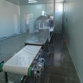 浩铭 隧道式微波干燥beplay手机官方 HMWB-60SD药用干燥灭菌机