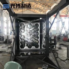 qiwan风量70000湿电除尘不锈钢阳极管zhuan厂yao厂shui泥厂guang博