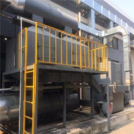立科环保活性炭吸附装置 催化燃烧有机废气处理设备LK002