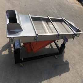 铭美PVC塑料振动筛 直线筛分机 不锈钢分选机1500