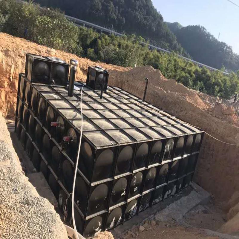 装配式无焊接不锈钢复合地埋水箱的特点20*10*3茂亿