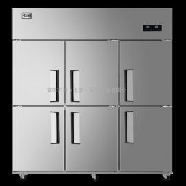海��(Haier)�L循�h商用�N房冰箱 立式不�P�冷柜 六�T高身雪柜SLB-1500C3D3