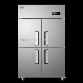 海��(Haier)�L循�h商用�N房冰箱 立式不�P�冷柜 四�T高身雪柜SLB-1020D4