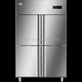 海��(Haier)商用�N房冰箱 �L循�h立式四�T工程款 四�T高身雪柜SLA-1000D4
