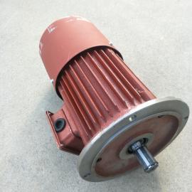 腾起实心转子制动铁壳软启动电机YSE90L-4