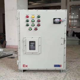 卫佳钢板材质防爆变频器调速箱BXMD