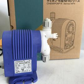 nikkiso 日机装电磁计量泵NFH10-P2MC-CF泳池消毒水添加泵 NFH20-P2MC-CF