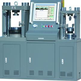 三宇伟业四立柱微机dian液伺服一体抗zhe抗压试验机HYE-300F-D型