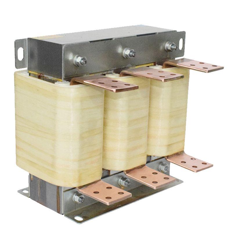 富杰YLLK-75KW进出线输入输出电抗器 三相交流滤波电抗器 500A 可定制
