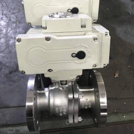 三精电动不锈钢球阀标准304调节阀Q941F