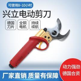 兴li828电动jian刀xiu枝jian锂电jianxiu果shu强力yuan林xiujian机4.5公分总dai理