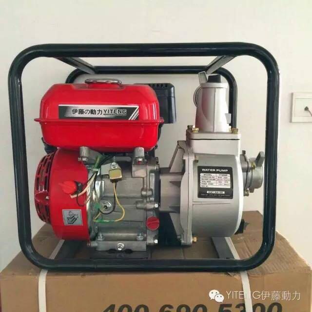 伊藤3寸汽油防汛水泵YT30WP