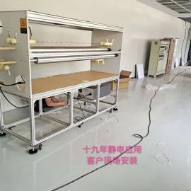 高效率熔喷布驻极处理机,静电驻极器,静电驻极设备静电发生器