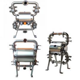 鄂泉QBY3-25卫生级不锈钢气动隔膜泵EQ