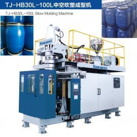 25L塑料桶吹塑机 制桶设备生产线 堆码桶生产机器TJ-HB60L通佳
