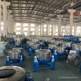 汉ting机械30公斤甩干机 大型工业脱水机 不xiu钢tong离心机单甩大rong量甩干tong
