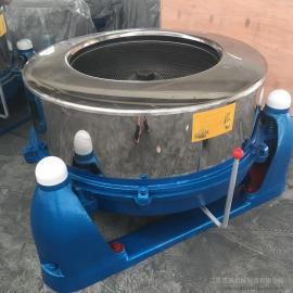 汉ting不xiu钢脱水机 大型离心机甩干机SS754-1200